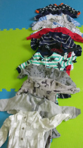 boys clothes 0 to 6months