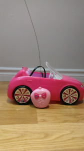 Voiture teleguidee barbie