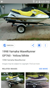 1998 yamaha 760 wave runner NEED PARTS ASAP
