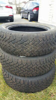 5 Winter Tires - (3 president, 2 triangle) 205 55 r16