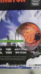 Radiateur rayonnant pour tête de reservoire