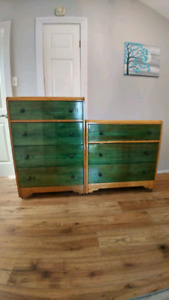 2 Solid Wood Dressers