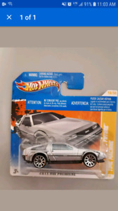 Back to the future hot wheels 1/64