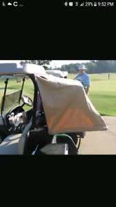 golf cart bag holder and cover