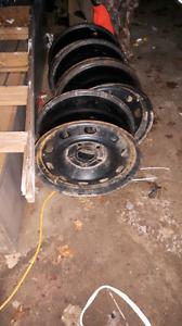 Dodge ram steel rims
