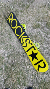 Rockstar snowboard with k2 binding
