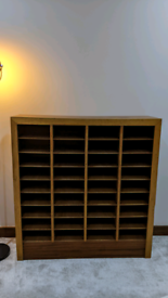 Wooden Hole Draw Cabinet