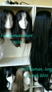 Brand New Peruvian Human Hair Wigs short & long lace front c pics New Farm Brisbane North East Preview
