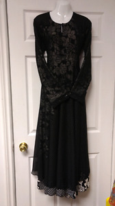 Double layer Long dress