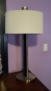 Tall modern lamp