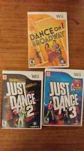Just Dance 2 & 3 Plus Dance on Broadway