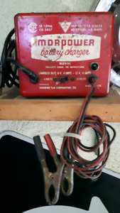 Vintage battery trickle charger