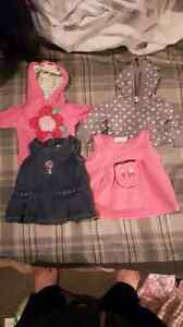 Newborn baby girl clothes 30$ for whole lot