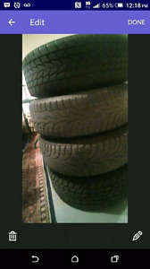 Rims and tires for trade