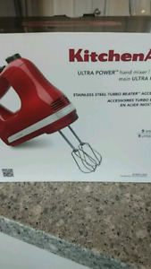 KitchenAid hand mixer -brand new