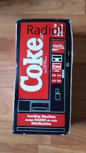 Coke vending machine radio