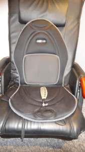 ObusForme Heat & Massage Cushion For Home Or Car - Never Used