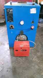 New Yorker hot water oil furnace