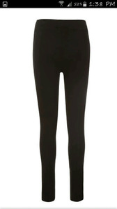 2 pairs of ricki's luxe pointe leggings size large