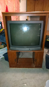 "Television, 32"" Toshiba with stand"