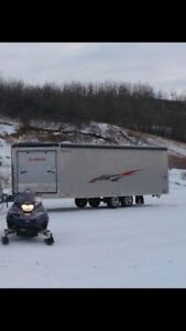 STOLEN FROM WETASKIWIN AB SLED TRAILER AND QUADS!