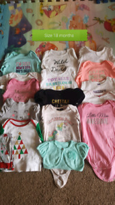 Girl clothes size 18 months 45+ items
