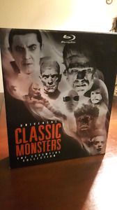 Universal Classic Monsters Essential Collection Blu Ray For Sale