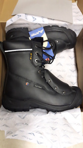 "Acton 8"" G2E mens size 10 work boots"