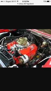 Wanted 427 or 366 complete engine or parts