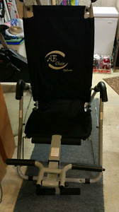 AB Chair Deluxe and Exercise bike