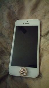 White iPhone 5c with white face!