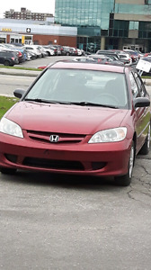 Honda civic 2005 automatique 102000kms