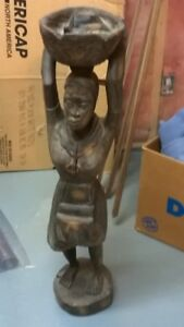 African/Native Wooden Carving