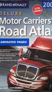 Deluxe Motor Carriers Road Atlas now  Includes two more!