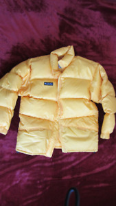 Bright-Yellow Down-filled Jacket by Columbia size L US