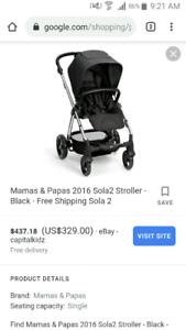 Mamas Papas Sola 2 stroller