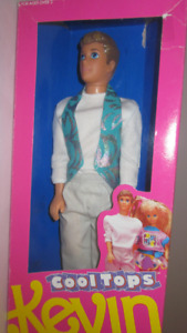 1990 Cool Tops Kevin Barbie doll