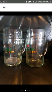 Vintage 32 oz. Austria Beer Mugs