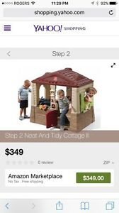 Step 2 neat and tidy cottage playhouse