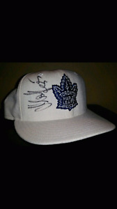 Leafs Danny Markov autographed hat size 7 1/8
