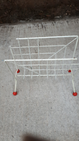 Vintage retro paper rack holder ##