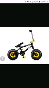 BMX Mini Rocker Bike with pegs