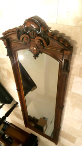 Antique 19th Century large mirror 10ft tall