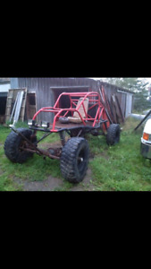 Home made tube buggy