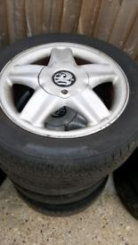 4 Tyres & Rims 185 - 55 - 15