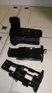 Battery grip for Canon EOS