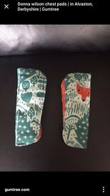 Mamas and papas special addition donna wilson fox print chest pads