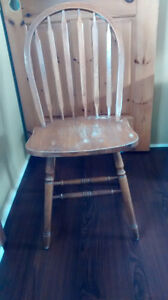 project.  four solid chairs