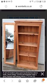 Book Shelves & Mirror