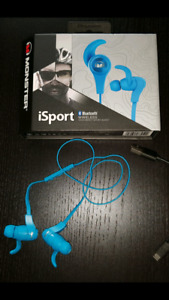 Monster iSport Bluetooth ear buds
